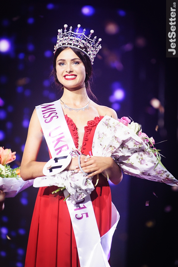 Pageant TV Channel: Khrystyna Stoloka, MIss Ukraine 2015 is Miss