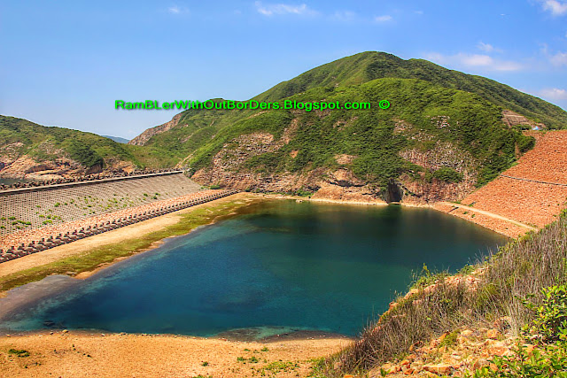 East Dam, High Island Reservoir, Sai Kun Country Park, Hong Kong