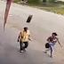Απίστευτο ατύχημα στη Βραζιλία: Του ήρθε μια ρόδα στο κεφάλι και τον τραυμάτισε σοβαρά (video+photo)