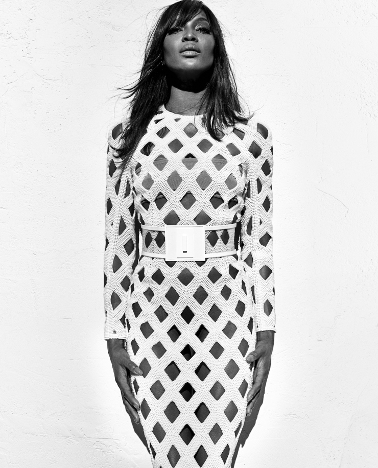 naomi campbell for balmain