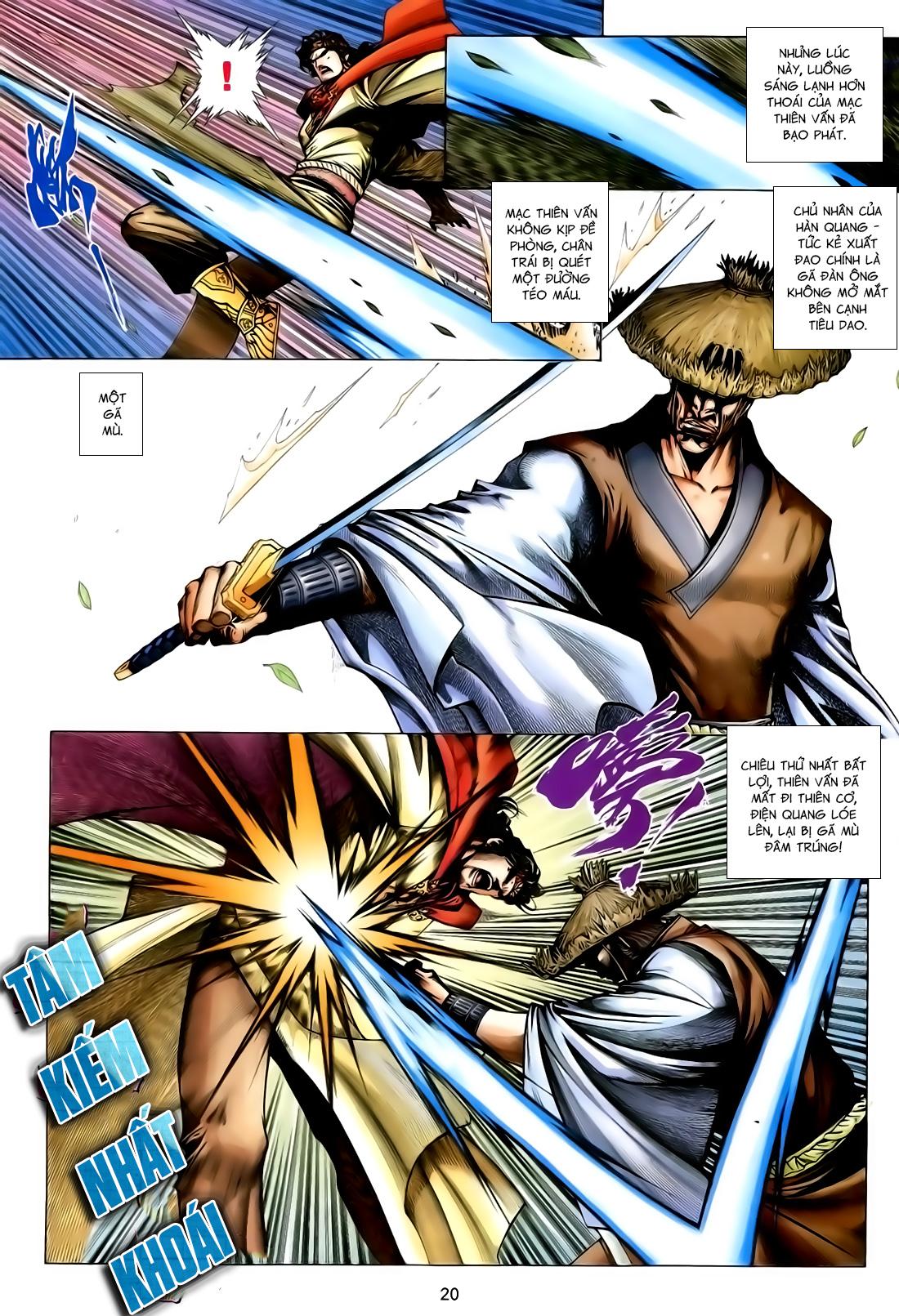 Anh Hùng Vô Lệ Chap 167 - Trang 20