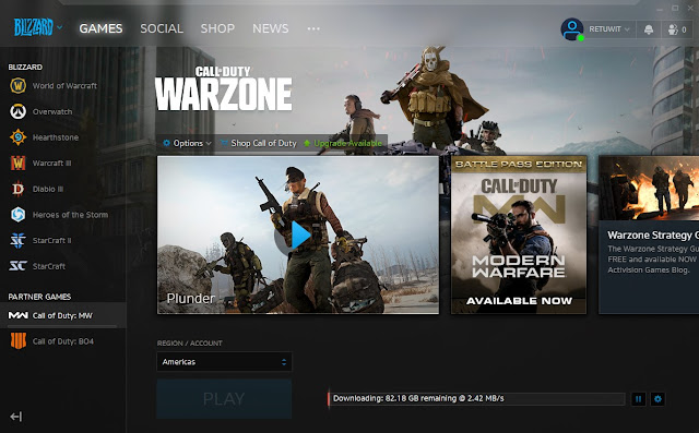 Cara Download Game Call Of Duty Warzone PC Maret 2020