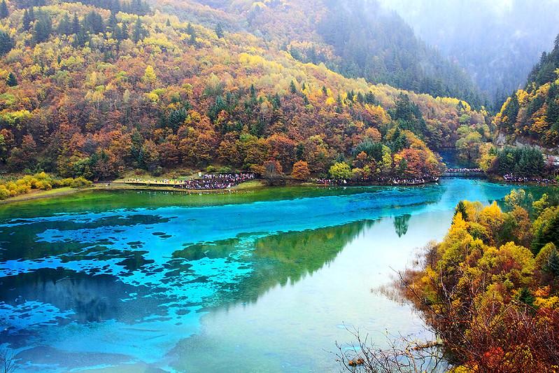 Jiuzhaigou park