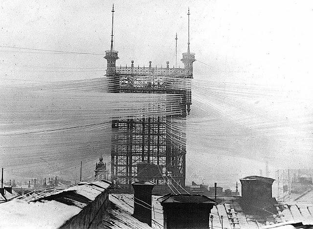 1890 Telefontornet Old Stockholm Telephone Tower