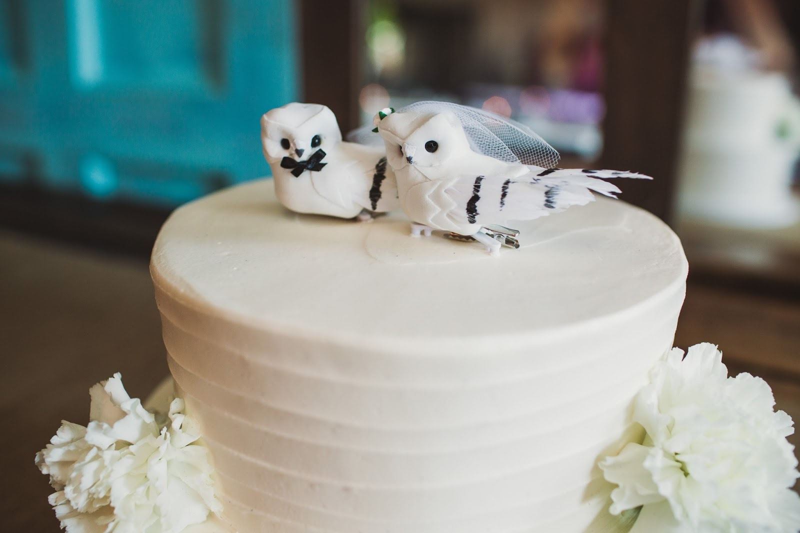 Confections of a Rockstar simple wedding cake | cassiecastellaw.com
