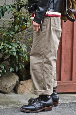 WESCO JAPAN 2011 限定モデルを履いたお客様をモデルに起用。