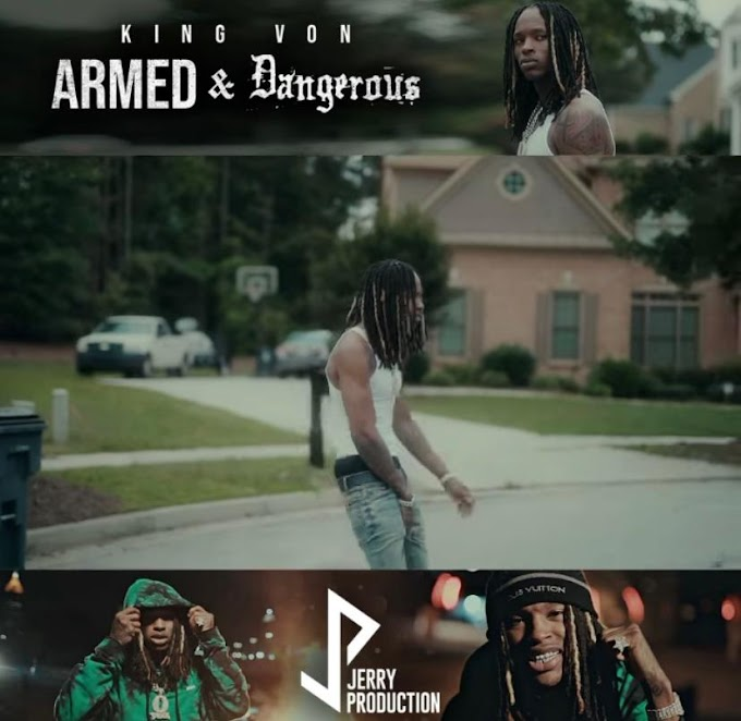 "King Von Released His New Video Clip Called ""Armed & Dangerous"" 