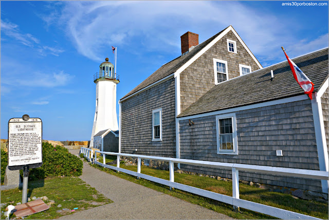 Faros de la Costa Sur de Massachusetts: Scituate Lighthouse