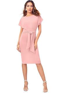 Body-Con-Women's-Dress