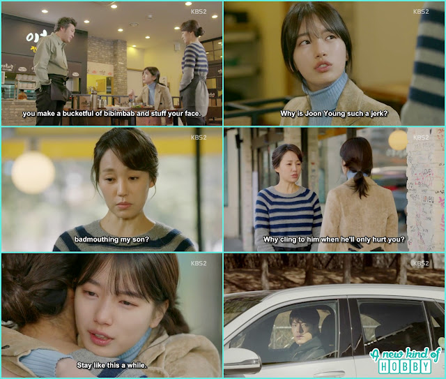 No Eul at Young Ok resturant joon young mother - Uncontrollably Fond - Episode 16 Review