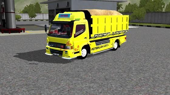 Mod Dump Truck Mitsubishi Canter 125PS