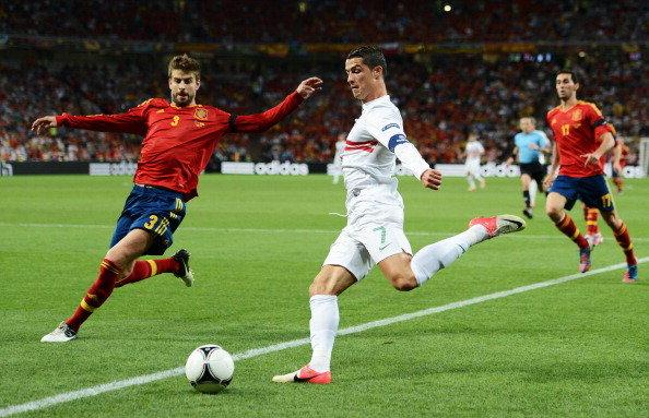 البرتغال يواجه اسبانيا