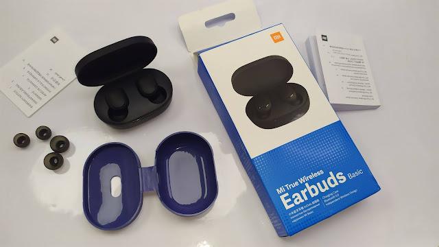 عش تجربة السماعات اللاسلكية بأرخص ثمن  Mi True Wireless Earbuds Basic + Case