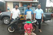 Buron 3 Tahun, DPO Pelaku Curanmor ini Akhirnya Ditangkap Polsek Rasbar