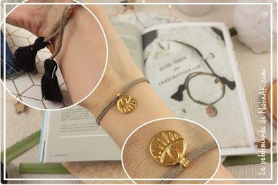 bracelet oeil grec