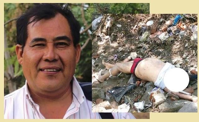Ejecutan al activista Alejandro Camarillo Beristain