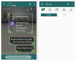 CHAT ME - Simple Green Versi 3.3.6.51 Apk