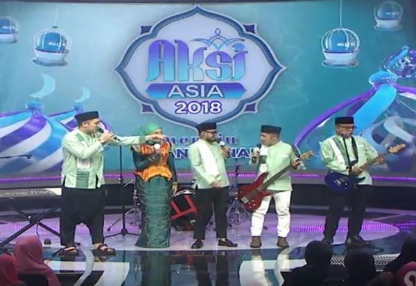 Juara Pemenang Grand Final Aksi Asia 2018