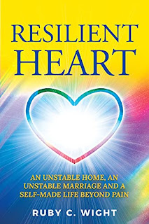 RESILIENT HEART: UNSTABLE HOME, AN UNSTABLE MARRIAGE, AND A SELF-MADE LIFE BEYOND PAIN by Ruby Wight - book promotion sites
