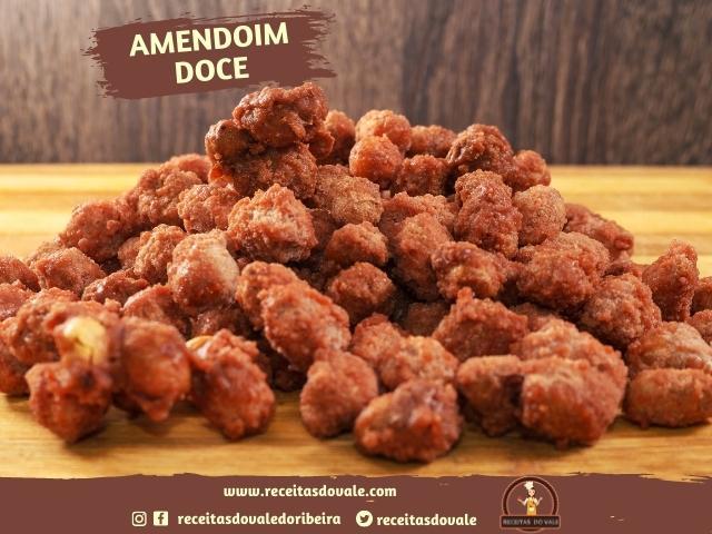 Receita de Amendoim Doce