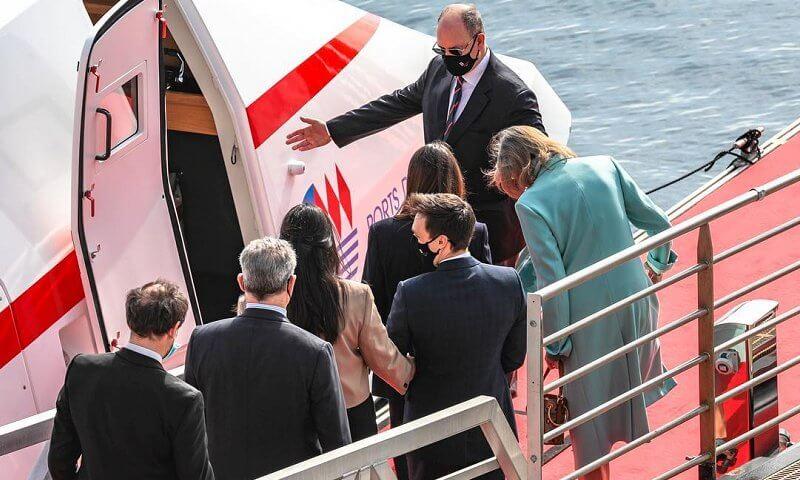 Princess Caroline, Princess Stephanie, Pauline Ducruet, Camille Gottlieb, Louis and Marie Ducruet