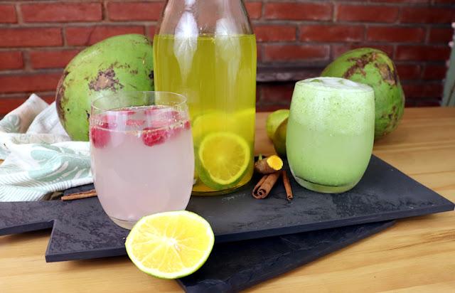 Bebidas detox para desinchar