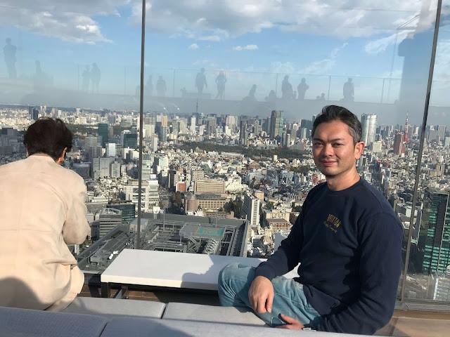 渋谷スクランブルスクエア内にある施設、渋谷スカイの様子です。