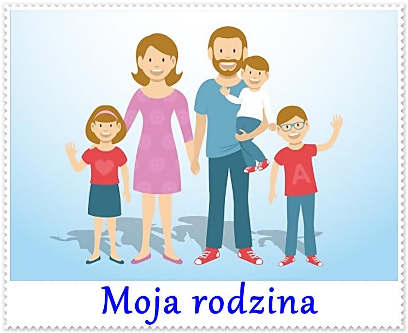 Boberkowy World : Moja rodzina - propozycje aktywności w ramach zdalnego  nauczania