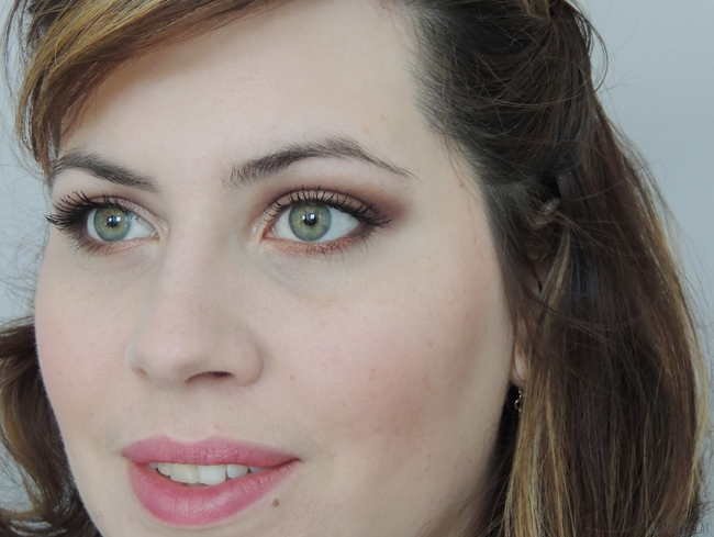 tutoriel maquillage make up pas a pas cuivre prune violet