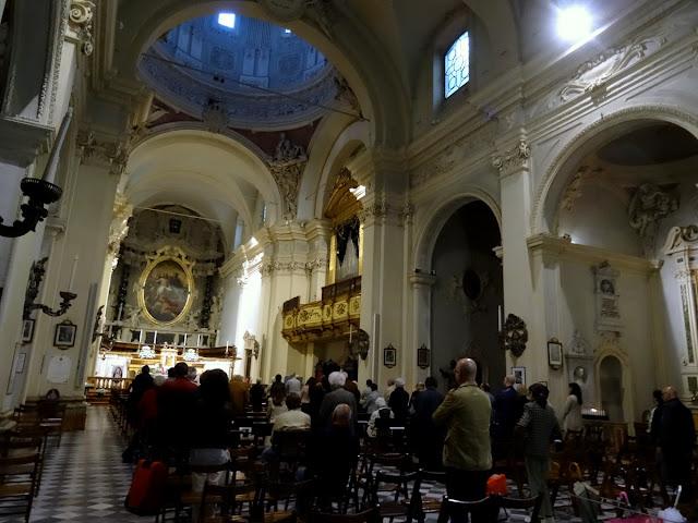 Church service Parma, Italy
