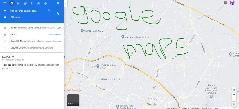 Cara Tambah Banyak Tujuan di Google Maps