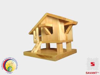 Wooden Bahay Kubo Handicraft