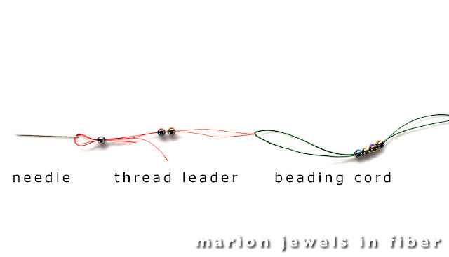Pull Along Needle and Thread Leader