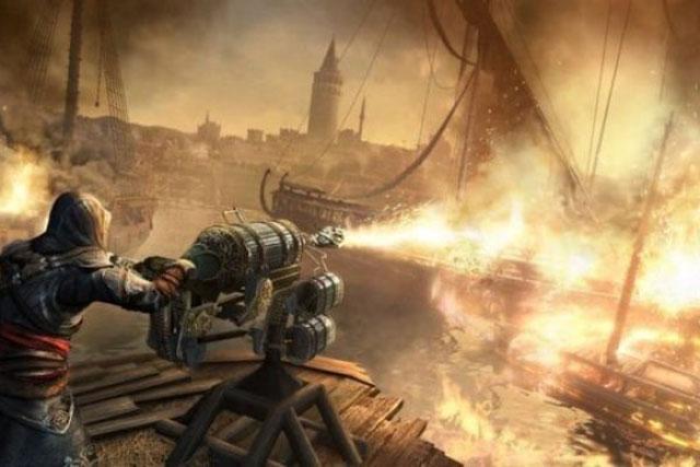 Militer di Abad Pertengahan Sudah Mengenal Senjata Penyembur Api