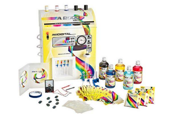 Kit Básico de recarga de cartuchos de Impressoras
