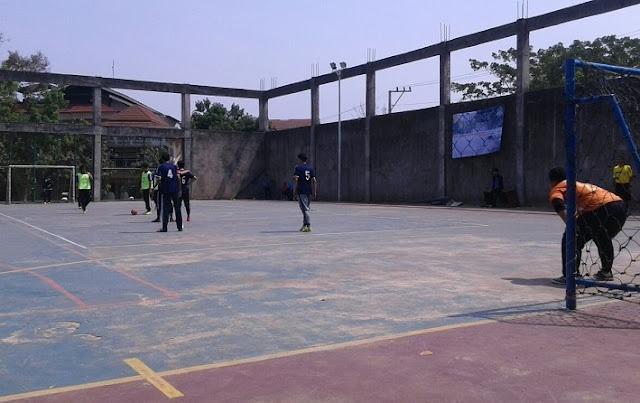Jenis Lapangan Futsal Semen
