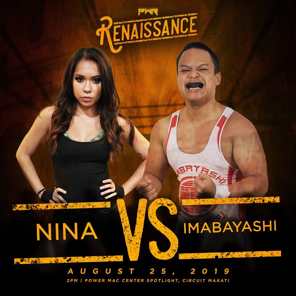 PWR Renaissance Predictions: Nina vs. Imabayashi