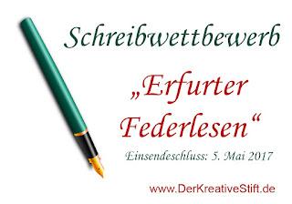Schreibwettbewerb: Erfurter Federlesen