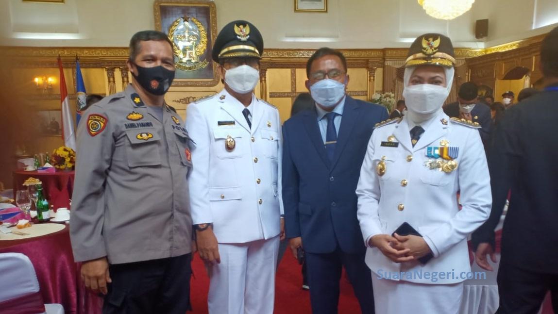 Mewakili Masyarakat Seko, Kompol Daniel Panandu Ucapkan Selamat Kepada Bupati dan Wakil Bupati Luwu Utara