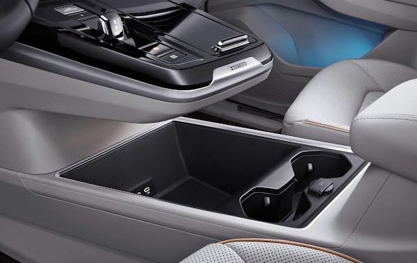 Volkswagen Talagon - console central dianteiro