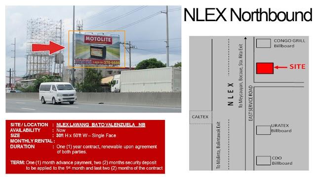 NLEX Billboards : Available NLEX Billboard