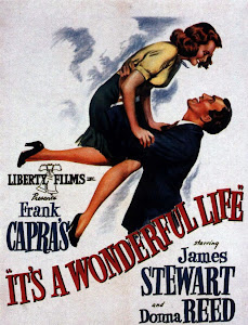 Poster Of Hollywood Film It's a Wonderful Life (1946) In 300MB Compressed Size PC Movie Free Download At worldfree4u.com