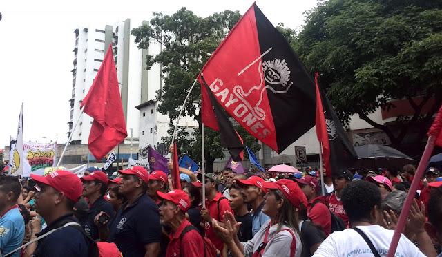 Sigue la lucha del pueblo venezolano en contra de la agresión imperialista