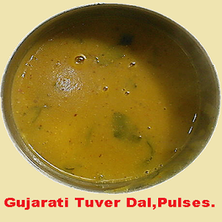 Gujarati style Tuver dal (pulse) Recipe