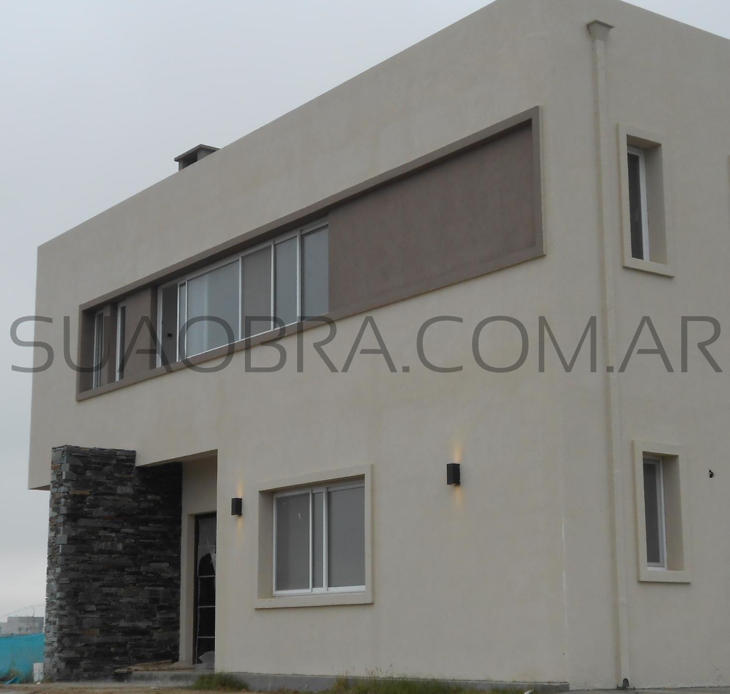 Revestimiento exterior tarquini color recubrimiento de - Revestimientos de paredes exteriores ...