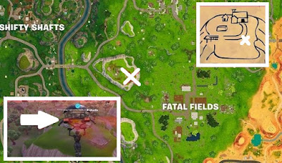 Flush Factory, Treasure Map, Fortnite