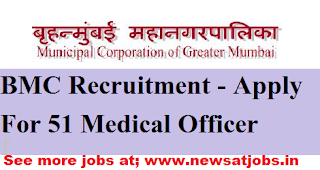 bmc-51-Medical-Officer-Vacancies