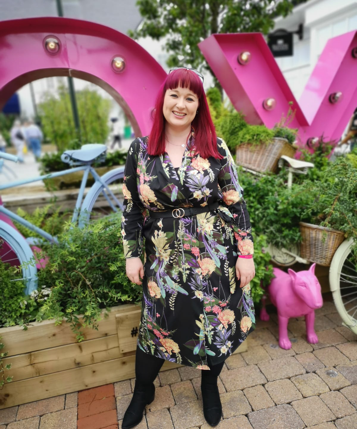 Kildare Village | NIBloggerBrunch On Tour Boohoo Kimono Dress