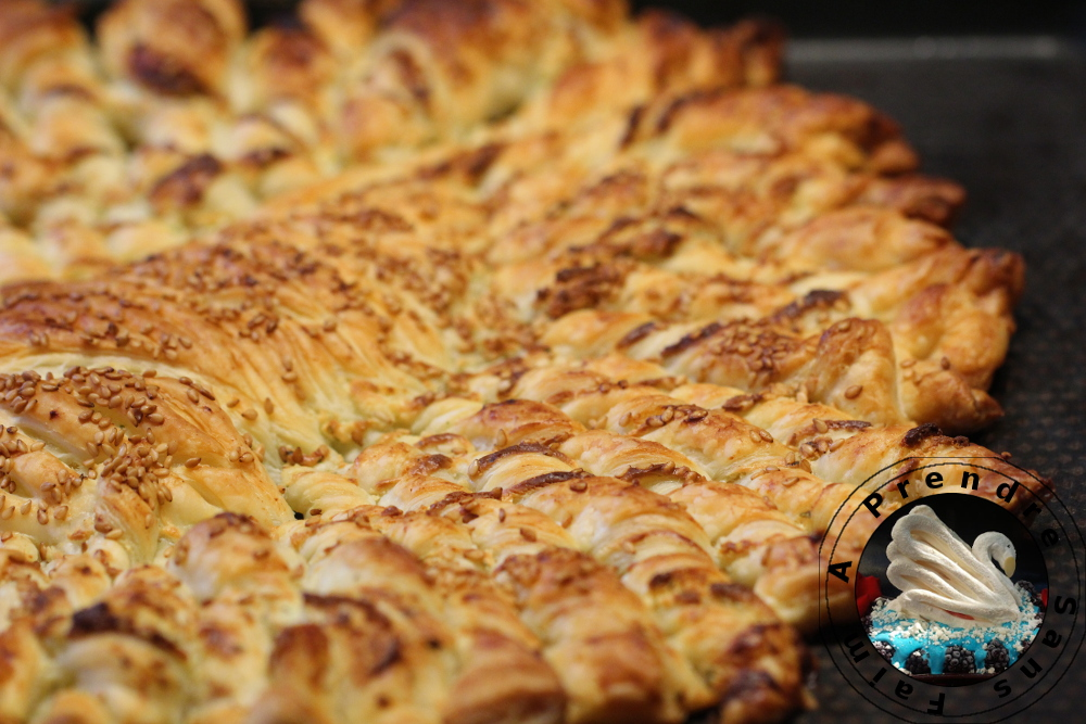 Tarte soleil fromage sésames