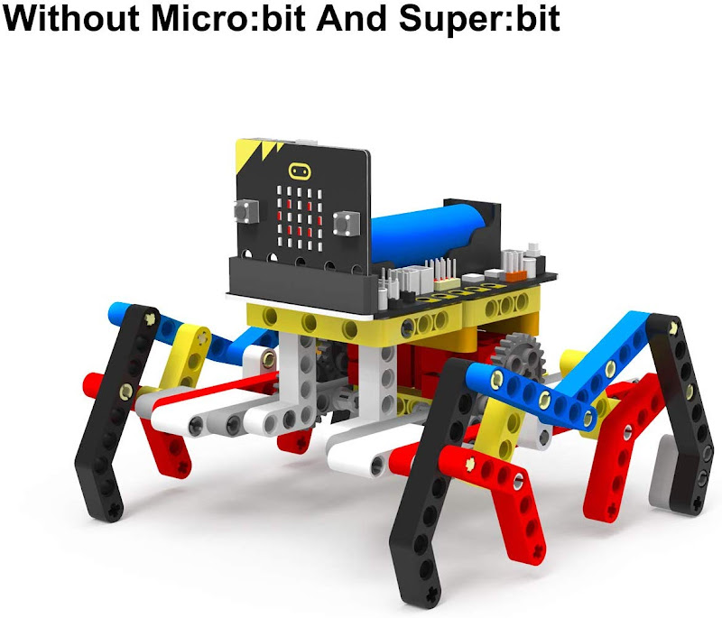 Yahboom Micro:bit Spider Robot Building Set